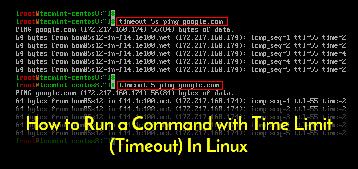 Run Linux Commands with Time Limit