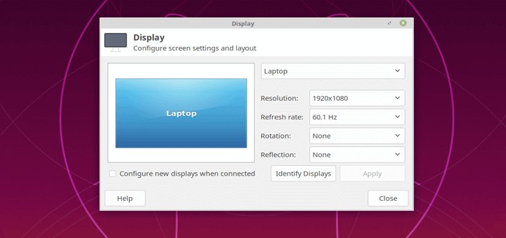 Set Display Screen Resolution in Ubuntu
