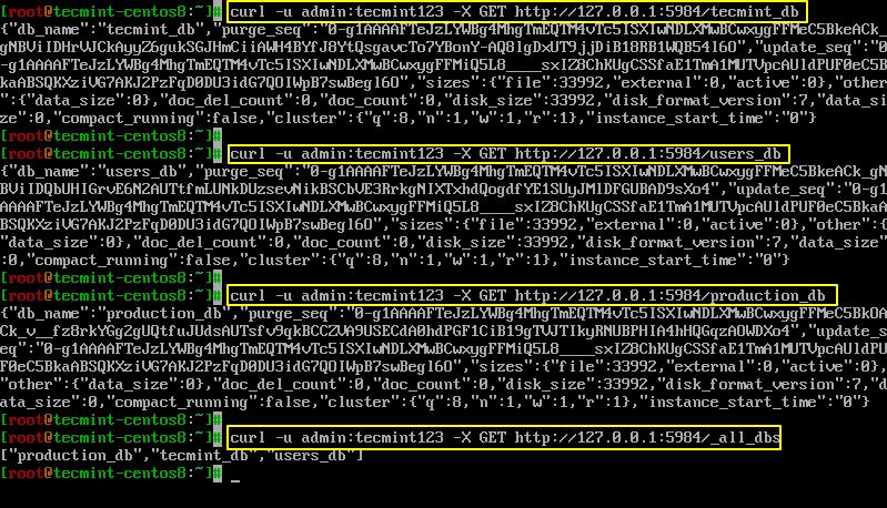 Get CouchDB Database Info