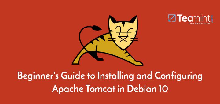 Install Apache Tomcat 9 on Debian 10