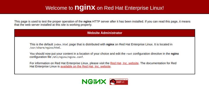 Install Nginx on CentOS 8