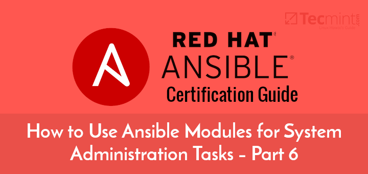 Linux System Administration Tasks with Ansible