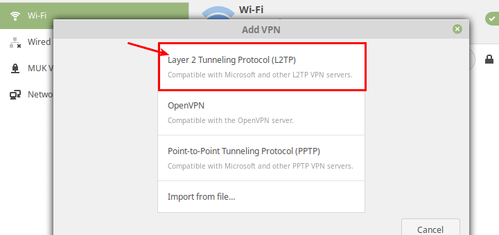 Setup an L2TP/IPsec VPN Client on Linux