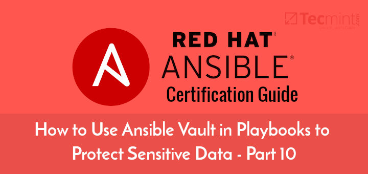 Use Ansible Vault in Playbooks