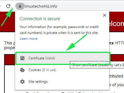Get Lets Encrypt Certificate Info