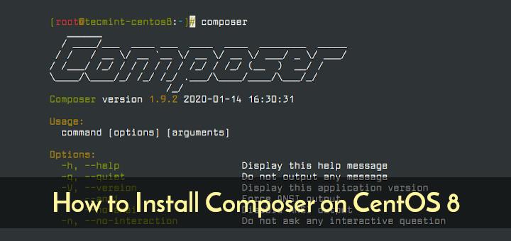 Install Composer on CentOS 8