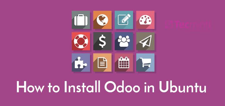 Install Odoo in Ubuntu