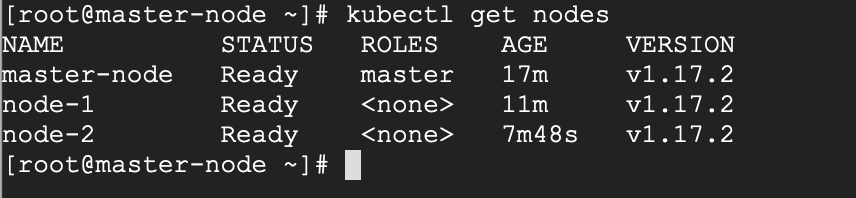 Check Kubernetes Cluster Status