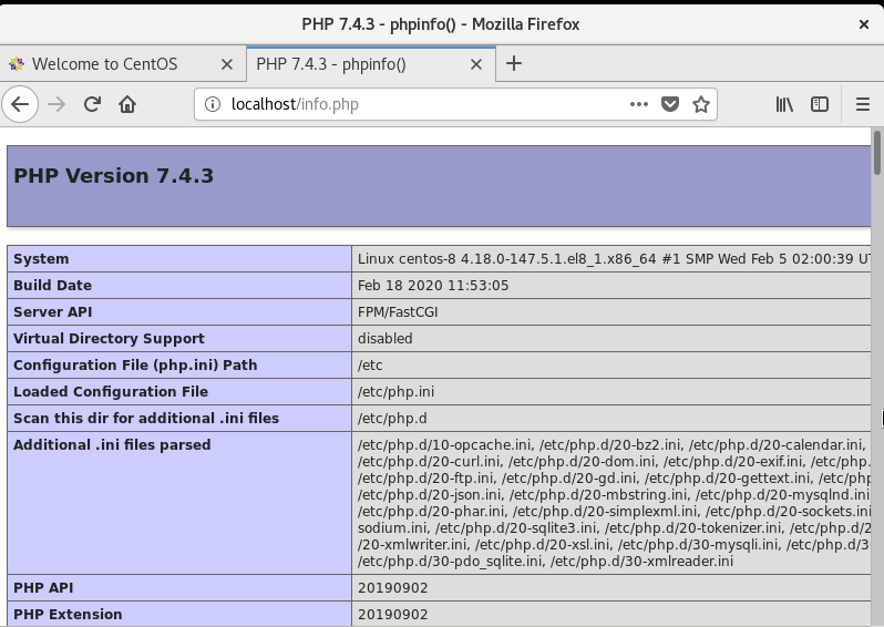 Check PHP-FPM Info