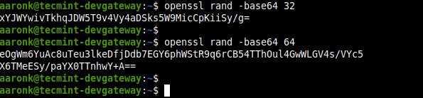 Tạo khóa PSK bằng lệnh OpenSSL