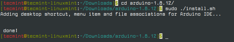 Install Arduino IDE in Linux