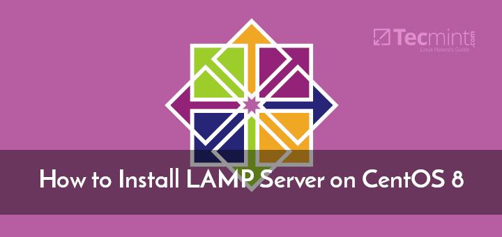 Install LAMP Server on CentOS 8