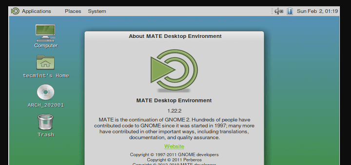 Install Mate Desktop in Arch Linux