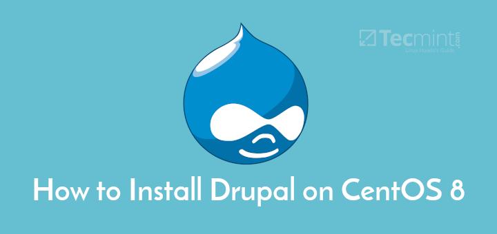 Install Drupal in CentOS 8