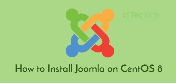 Install Joomla on CentOS 8