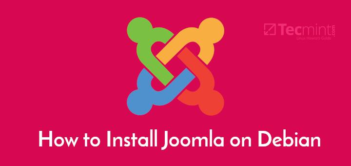 Install Joomla in Debian