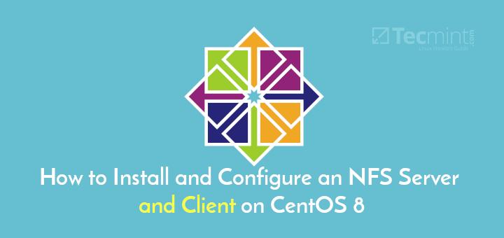 Install NFS Server on CentOS 8