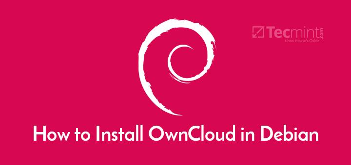 Install OwnCloud in Debian 10