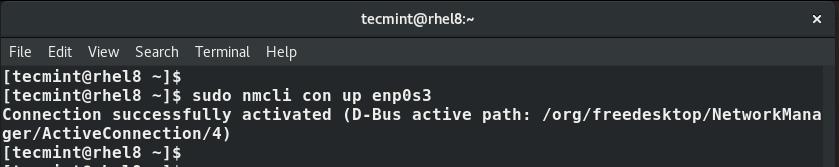 Active IP Address of Network