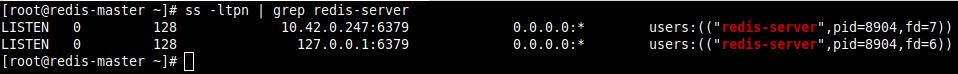 Confirm Redis Server Ports