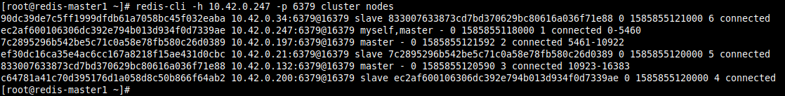 Check All Cluster Nodes on Any Node