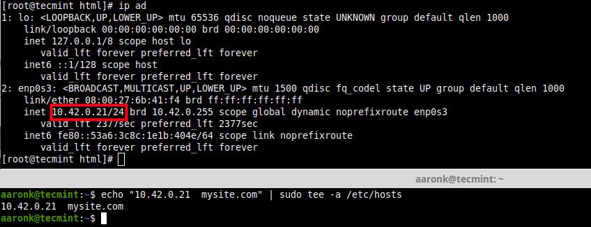 Add DNS Entries in Local File