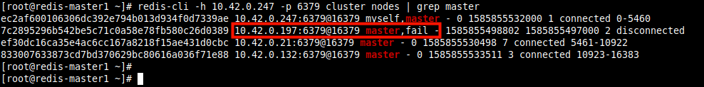 Check Cluster Failover Status
