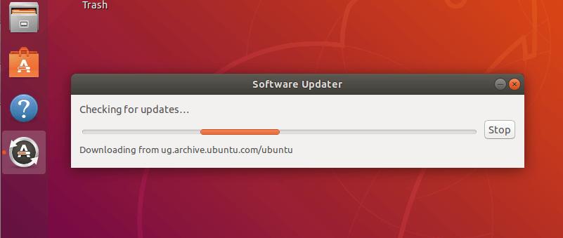 Checking for Ubuntu Upgrades