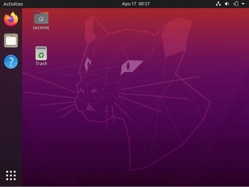 Ubuntu 20.04 Login