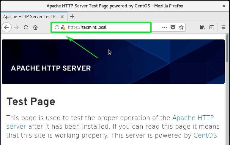 Access Website Over HTTPS