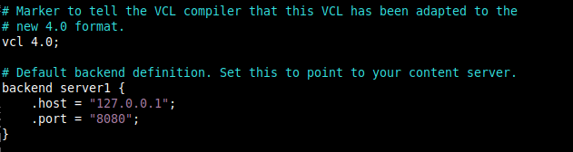 Configure Varnish Backend Servers