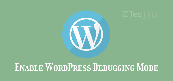 Enable WordPress Debugging Mode