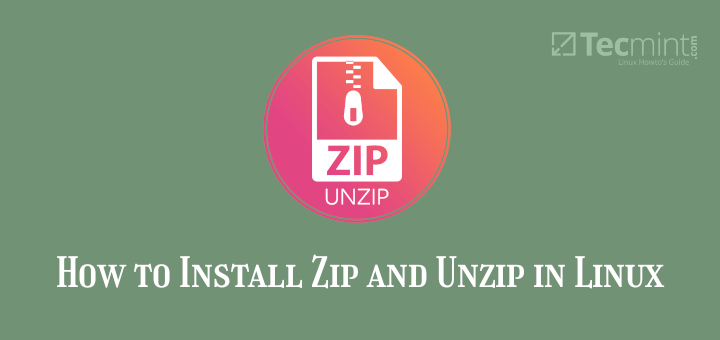 Install Zip in Linux
