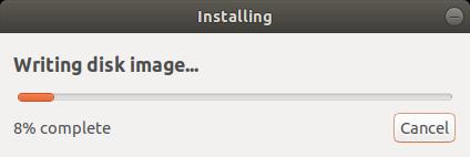 Writing Disk Image to USB Drive