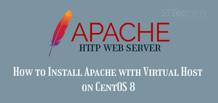 Install Apache with Virtual Host on CentOS 8