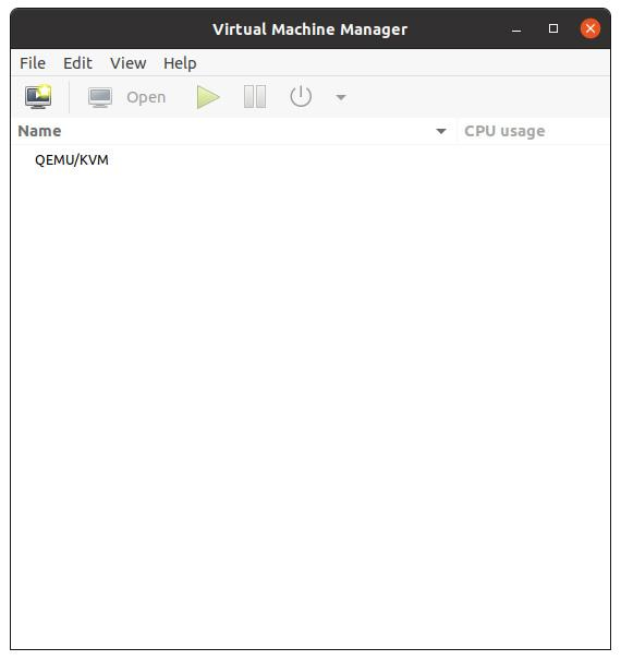 KVM Virtual Machine Manager