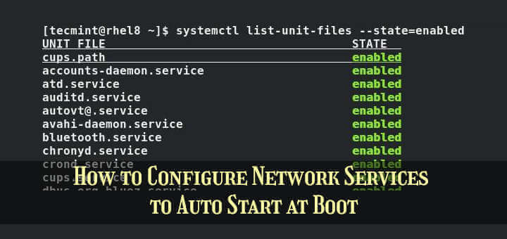 Auto Start Services on Linux Boot