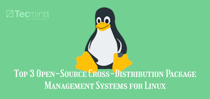 Cross-Distribution Package Managers for Linux