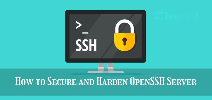 Secure OpenSSH Server