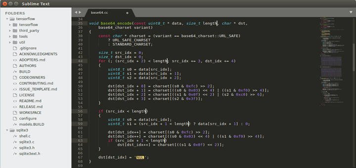 Sublime Text Editor for Linux