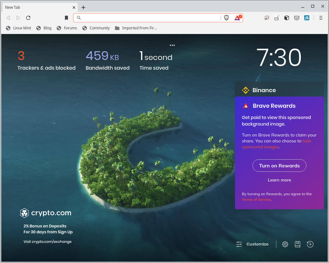 Brave Browser Statistics