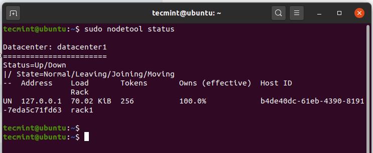 Check Node Tool Status