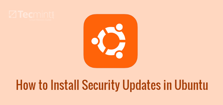 Install Security Updates in Ubuntu