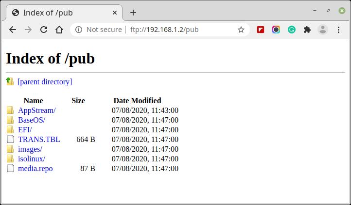 Verify FTP Directory