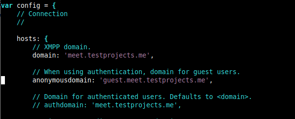 Enable Domain for Jitsi Guest Users