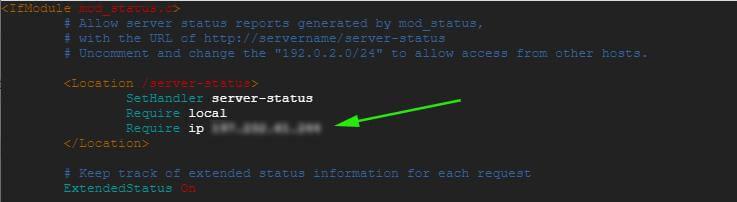 Configure mod_status Module in Apache Ubuntu