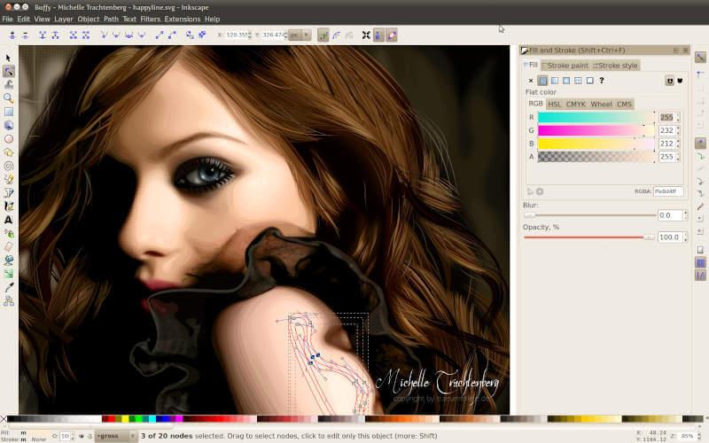 Inkscape - vector graphics editor