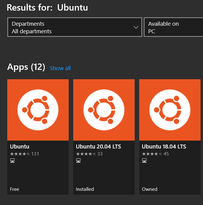 Install Ubuntu on Windows