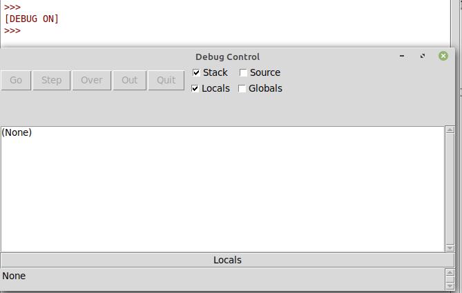 Python IDLE Debug