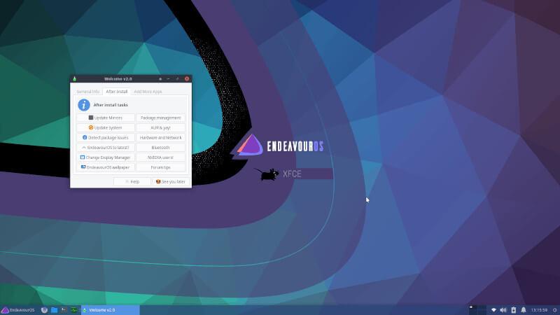 Endeavor Linux OS
